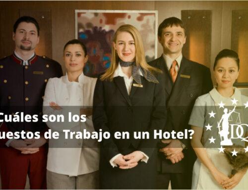 ¿Cuáles son los Puestos de Trabajo en un Hotel? | RRHH